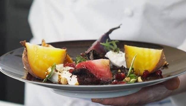 Beet & Burrata salad by Eric Briffard