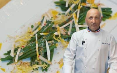 La salade d'haricots verts à l'asiatique d'Éric Bouchenoire