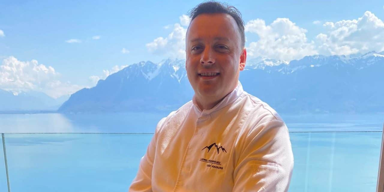 Lionel Rodriguez, the chef who shines in Switzerland