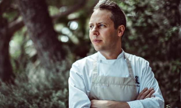 Yoric Tièche, the young chef of the Grand-Hôtel Cap-Ferrat