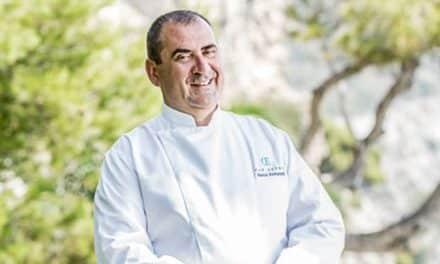 Patrick Raingeard, the multi-award-winning chef at Cap Estel