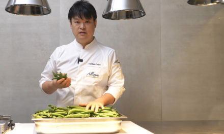 How to choose peas with Toshitaka Omiya?