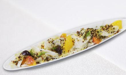 Fennel-quinoa of Eric Briffard