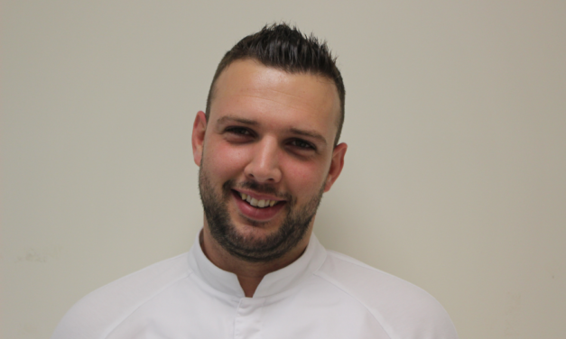 Julien Devernois pastry chef from Lily of the Valley