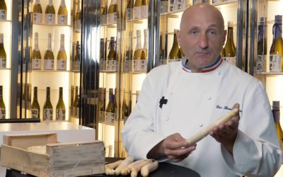Bien choisir ses asperges blanches avec Éric Bouchenoire