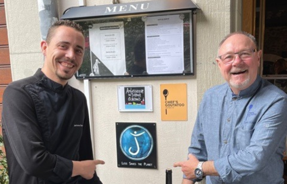 Thierry Minguez, une collaboration responsable à Café du Marché