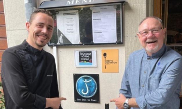 Thierry Minguez, an eco-friendly collaboration at Café du Marché