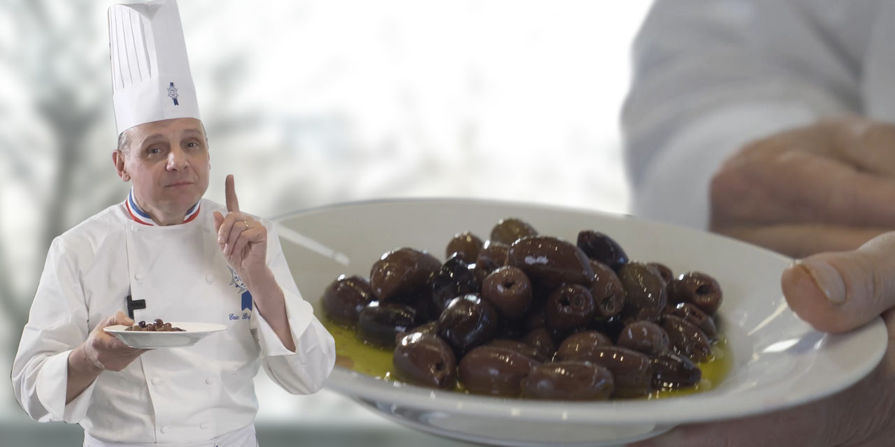 Les olives : la touche du chef Briffard