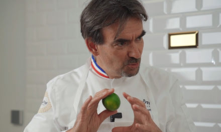 Lime: Chef Krenzer's touch