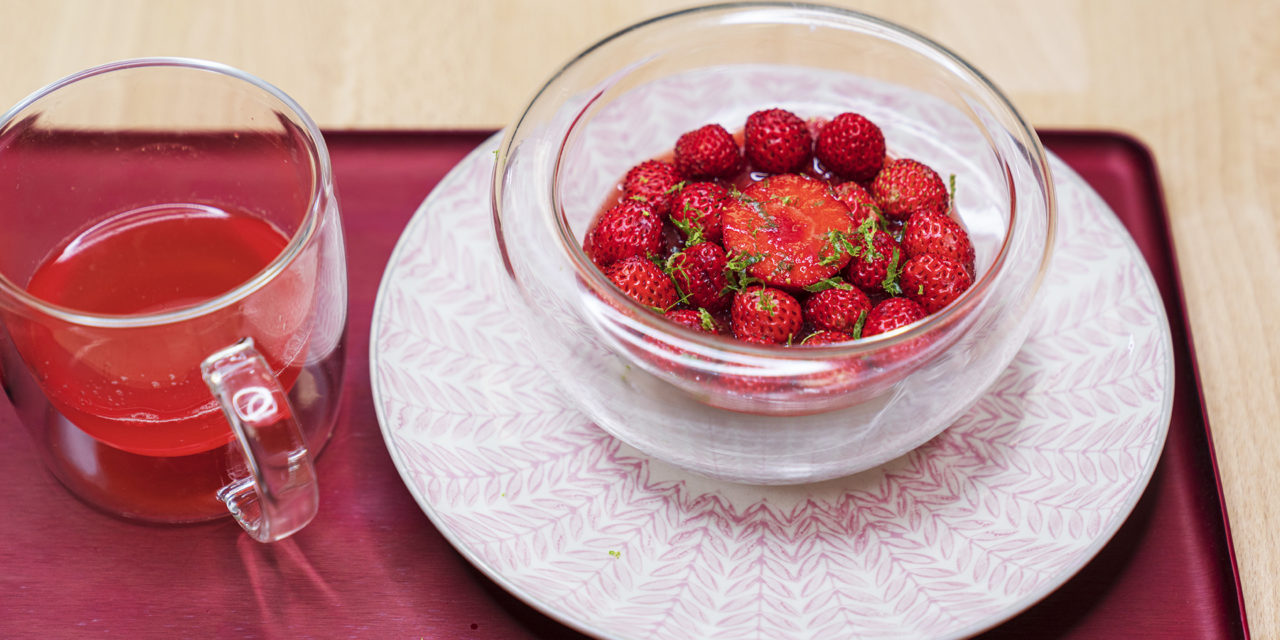 Nage de fraises de Guy Krenzer
