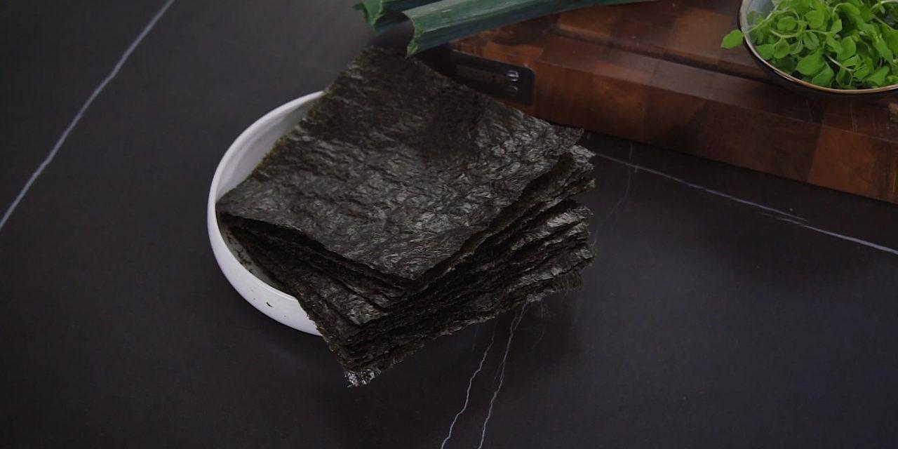Les algues Nori : la touche du chef Orieux