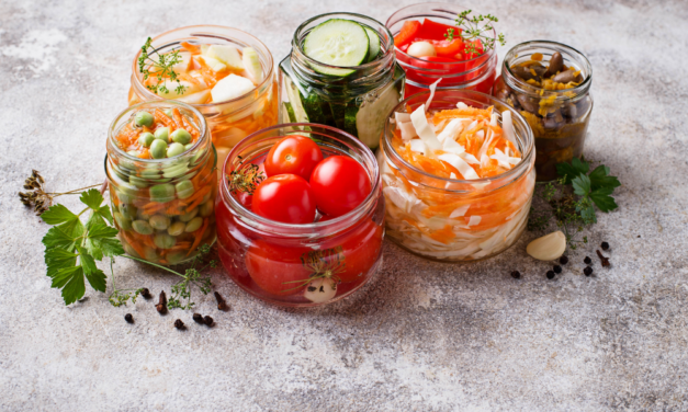 How to store food to preserve nutrient
