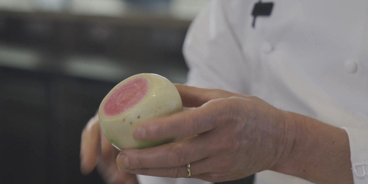 Le radis red meat : la recette extra du chef Briffard