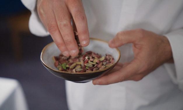 Pistachios: Chef Orieux's touch