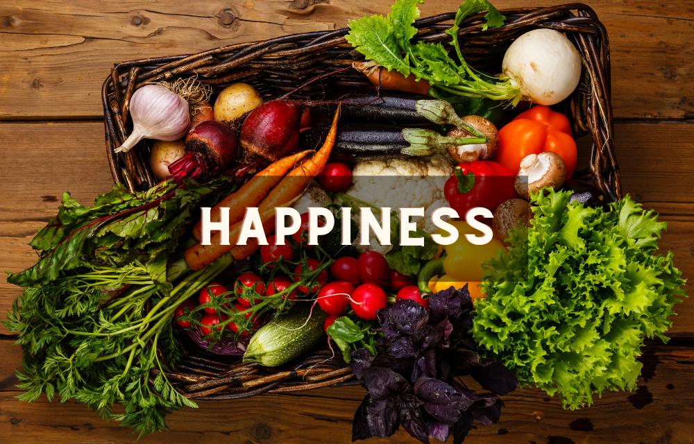 Le bonheur dans l'assiette